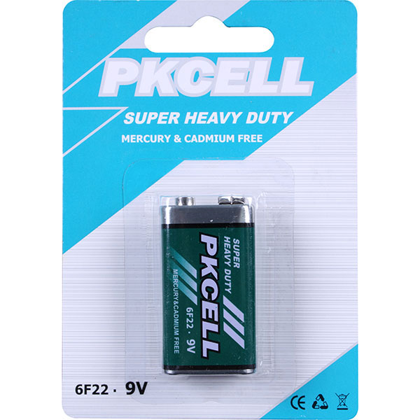 Super Heavy Duty Battery 6F22 9V